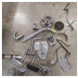 Lot of Motorcycle Parts Includes Harley