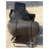 Leather Harley Davidson Saddle Bags