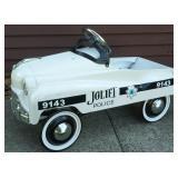Custom Joliet Police Pressed Steel Pedal