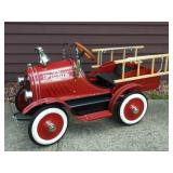 Awesome City Fire Department Pressed Steel Pedal