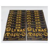 (16) NOS Dr Lynas Maple Cardstock Advertising