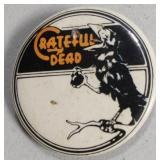 Vintage Grateful Dead Button