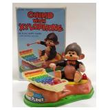 Battery Operated Chimp With Xylophone in Box