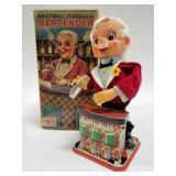 Battery Operated T.N Japan Bartender with box
