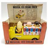 Bandai Battery Operated Musical Ice Cream Truck