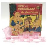 Alice in Wonderland Tea Time Dishes A Plasco Toy