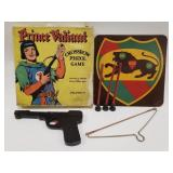 1948 Prince Valiant Crossbow Pistol Game by Parva