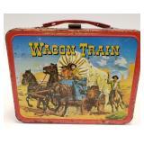 1964 Thermos Wagon Train Metal Lunch Box