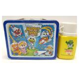 1985 Thermos Muppet Babies Metal Lunch Box with
