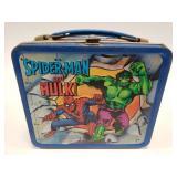 1980 Aladdin Spider-Man, The Hulk, and Captain