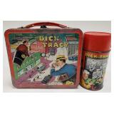1967 Aladdin Dick Tracy Metal Lunch Box with