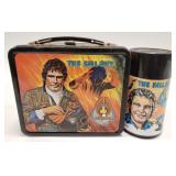 1981 Aladdin The Fall Guy Metal Lunch Box with
