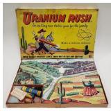 Vintage Gardener Games Uranium Rush Board Game