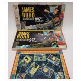 1964 Milton Bradley James Bond Secret Agent Board