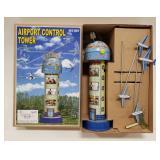 Tin windup Airport Control Tower