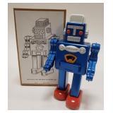 Tin Windup Robot. Missing the key.