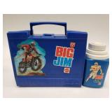 1972 Thermos Mattel Big Jim Plastic Lunchbox with