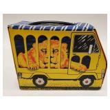 Vintage Vinyl Lion in a Van Lunchbox