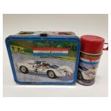 1967 Thermos Auto Race Metal Lunchbox with