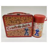 Vintage Aladdin Cracker Jack Metal Lunchbox with