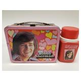 1972 Thermos Bobby Sherman Metal Lunchbox with