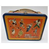 Vintage Ohio Art Pro Sports Metal Lunchbox