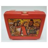 1983 Thermos The A-Team Plastic Lunchbox