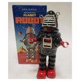 Schylling HA HA Toys Tin Mechanical Planet Robot