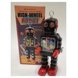 HA HA Toys Mechanical High-Wheel Robot