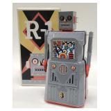 2000 Rocket USA R-1 Tin Battery Op. Robot
