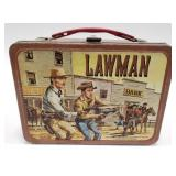 1961 Thermos Lawman Metal Lunch Box