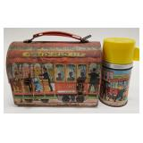 1962 Aladdin Cable Car Dome Metal Lunch Box with