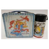 1973 Aladdin Junior Miss Metal Lunch Box with