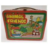 1978 Ohio Art Animal Friends Metal Lunch Box