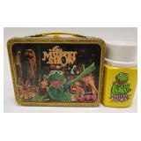 Vintage Thermos The Muppet Show Metal Lunch Box