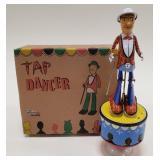 Tin Treasures Tap Dancer Tin Windup