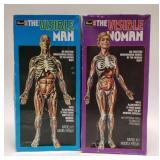 Revell The Visible Man and Woman Model Kits.