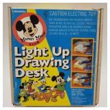 Mickey Mouse Club Light Up Drawing Desk