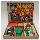 Deluxe Educating Game Magnetic Comic Faces.