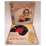 1957 Milton Bradley Name that Tune Game with Box.