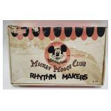 Emenee Mickey Mouse Club Rhythm Makers Music Set.
