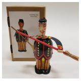 Tin Windup Man with Broom