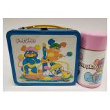 1986 Aladdin Popples Metal Lunch Box with Thermos