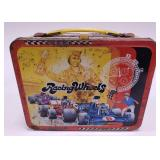 1977 Thermos Racing Wheels Metal Lunch Box