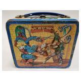 1984 Aladdin Secret Wars Marvel Metal Lunch Box