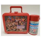 1992 Aladdin American Gladiators Plastic Lunchbox