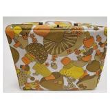 Vintage Mushroom Vinyl Lunch Box