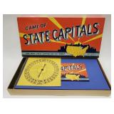 Vintage Parker Brothers Game of State Capitals