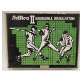 Vintage Sherco ll Baseball Simulation Game
