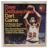 Vintage Dave DeBusschere Dart Game by U.S. Dart